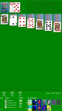 Classic Solitaire (Free) screen shot 3