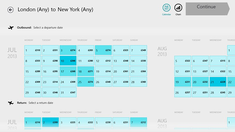 Skyscanner screen shot 3