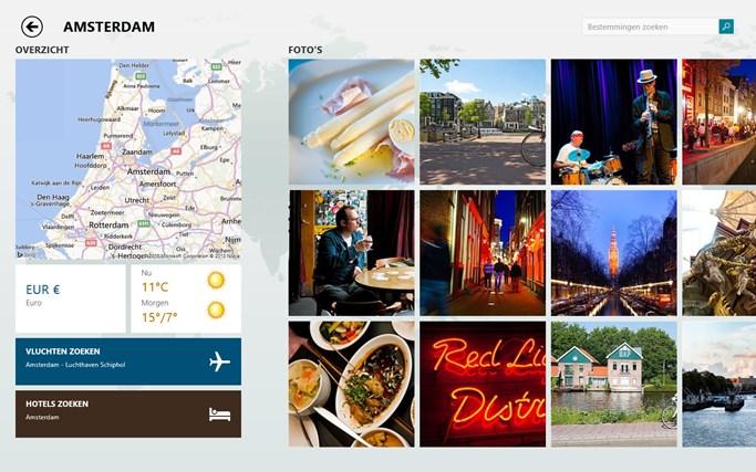 Bing Reizen schermafbeelding 1