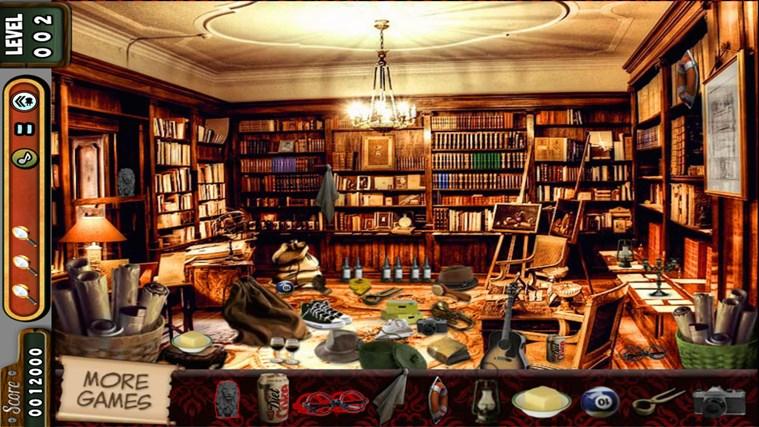 Hidden Objects - Vampire Rooms - Lost Kingdom - Village screen shot 1