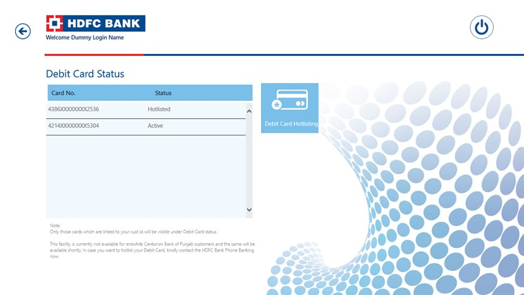 HDFC Bank screen shot 7