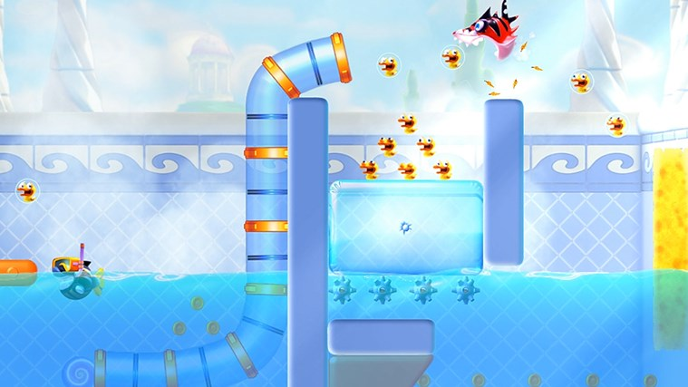 Shark Dash! By Gameloft screen shot 1