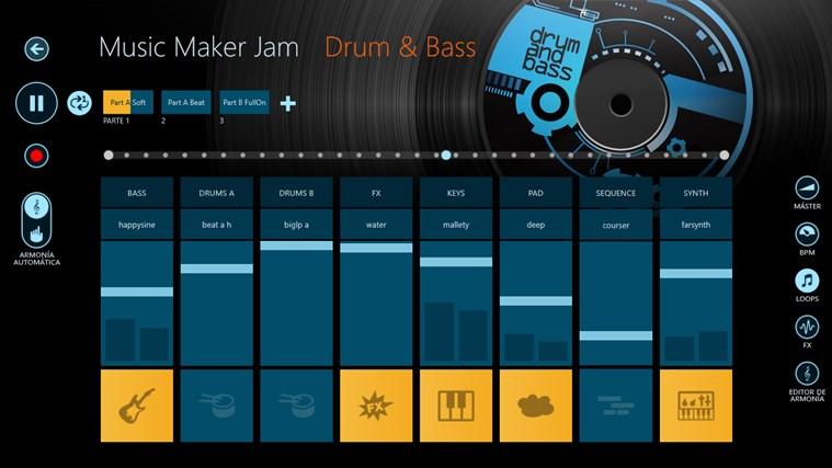Music Maker Jam captura de pantalla 1
