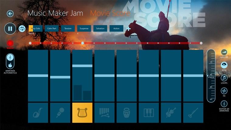 Music Maker Jam captura de pantalla 3