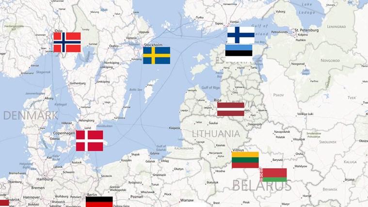Värld Nationsflaggor-skärmbild 3