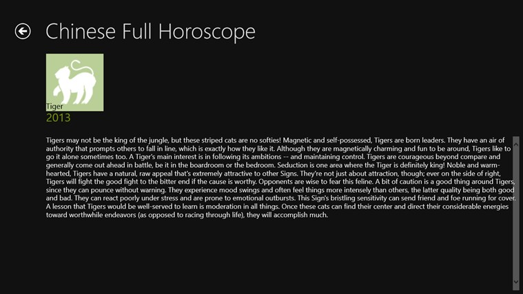 Astro Horoscopes screen shot 1
