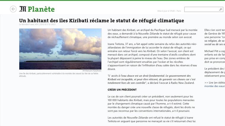 Le Monde.fr capture d'écran 1
