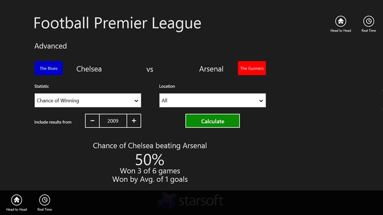 Football Premier League screen shot 1