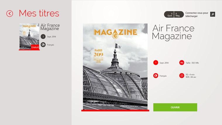 Air France Press capture d'écran 1