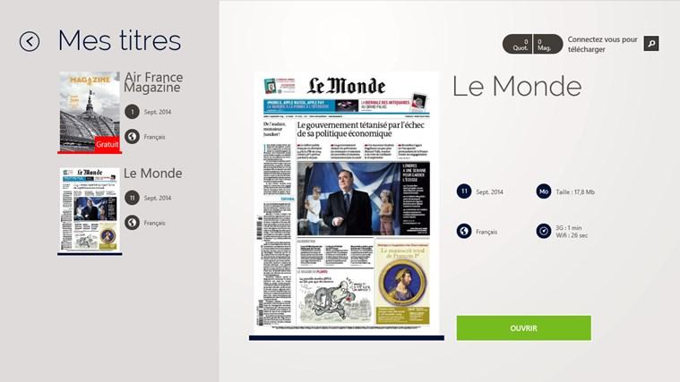 Air France Press capture d'écran 3