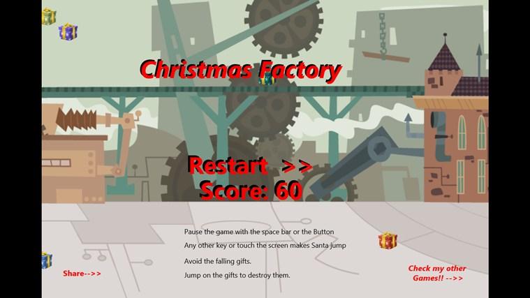 Christmas Factory screen shot 1