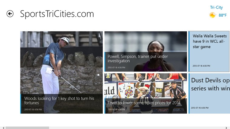 Tri-City Herald screen shot 5