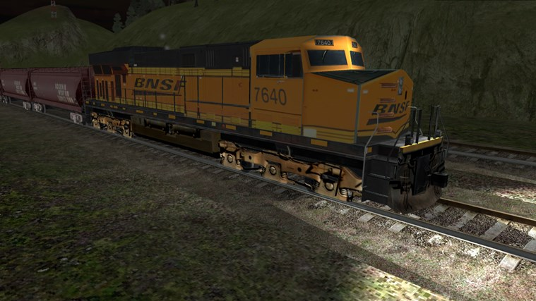 Train Sim screen shot 1