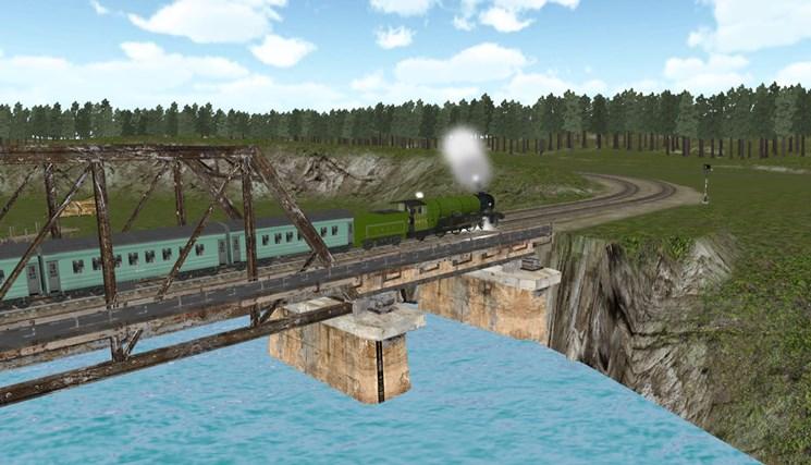 Train Sim screen shot 5