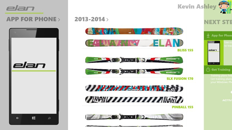 Elan Skis screen shot 3