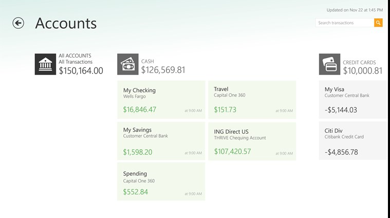Mint.com Personal Finance capture d'écran 3