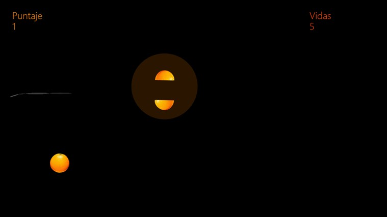 Ninja Naranja captura de pantalla 1