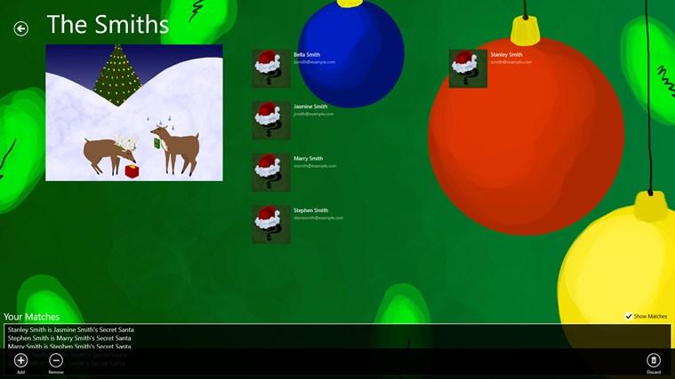 Secret Santa screen shot 3