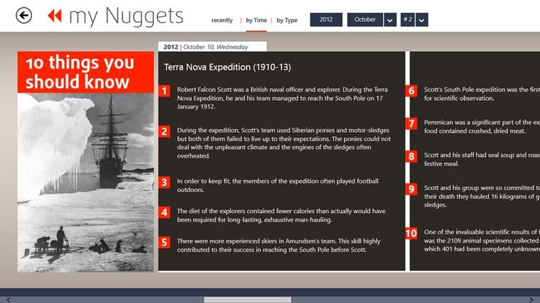 my History Digest screen shot 3