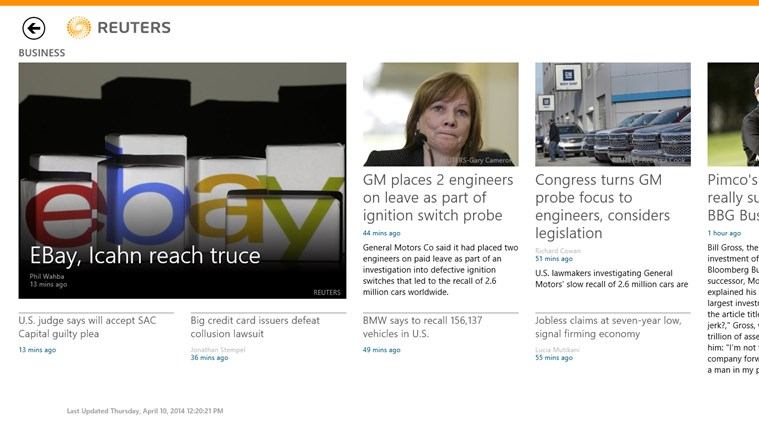 Reuters screen shot 1