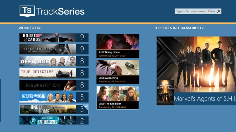 TrackSeries اسکرین شاٹ 3