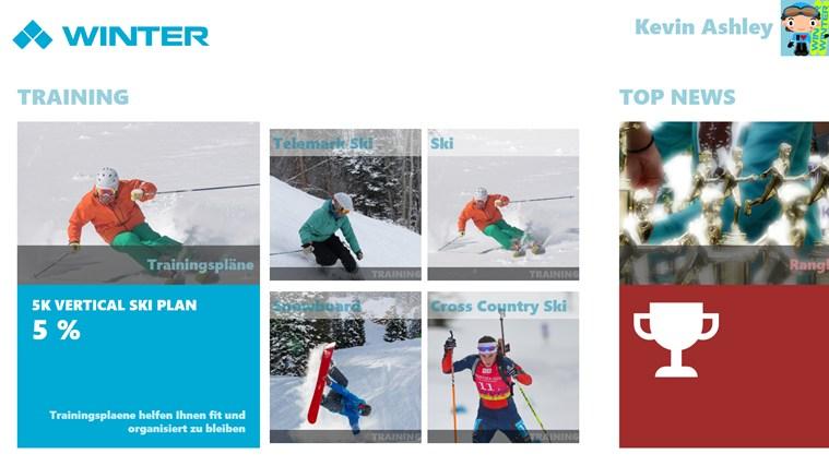 Winter Sports schermafbeelding 3