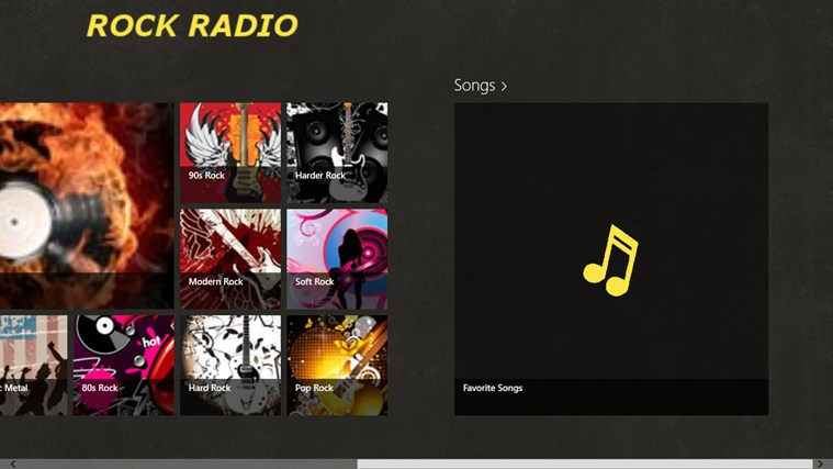 RockRadio screen shot 3