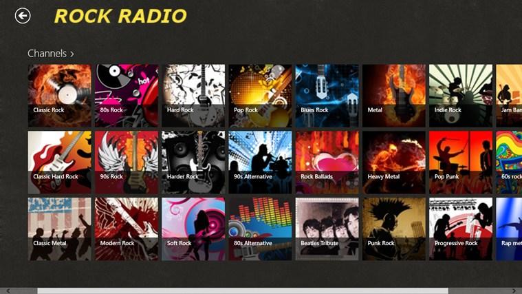 RockRadio screen shot 5