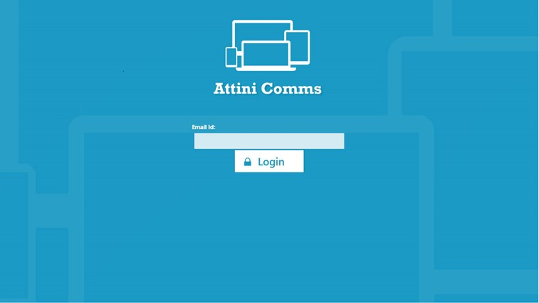 Attini Comms screen shot 5