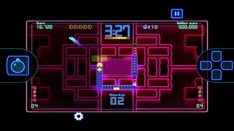PAC-MAN Championship Edition DX+ capture d'écran 1