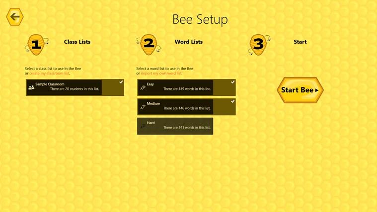 Spelling Bees screen shot 3
