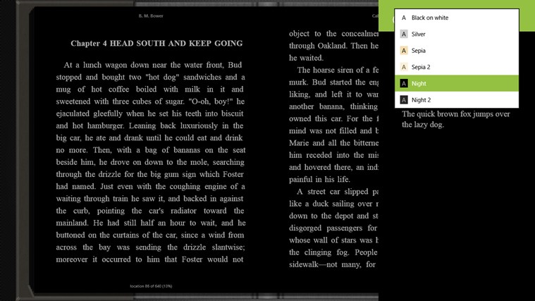 Bookviser screen shot 3