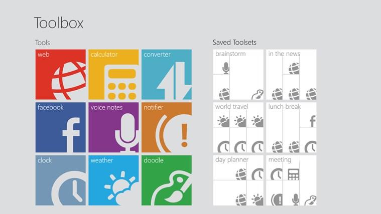 Toolbox for Windows 8 screen shot 5