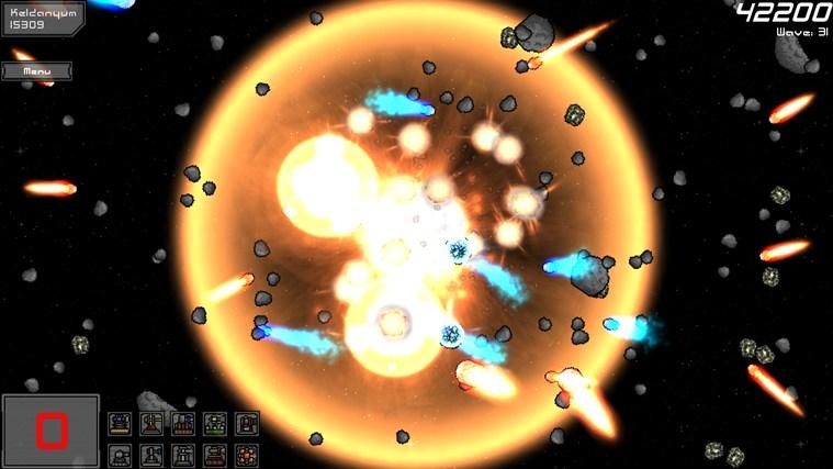 Planetoid Defense screen shot 7