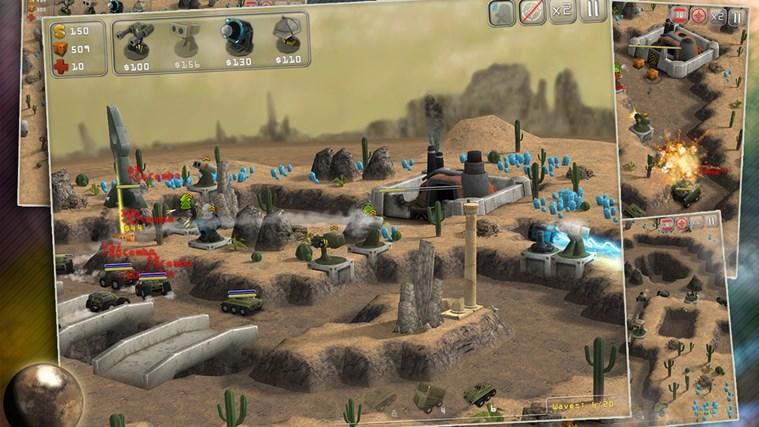 Total Defense 3D screen shot 3