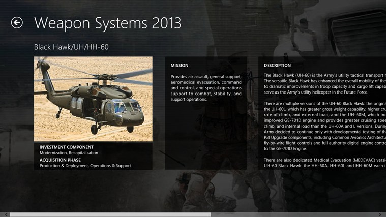 Army Weapon Systems Handbook screen shot 5