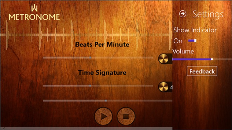 Metronome screen shot 3