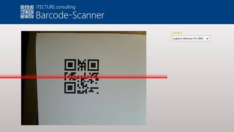 Barcode-Scanner screenshot 1