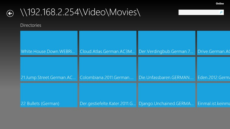 XBMC Remote screen shot 3