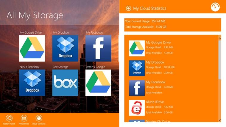 All My Storage Pro screen shot 1