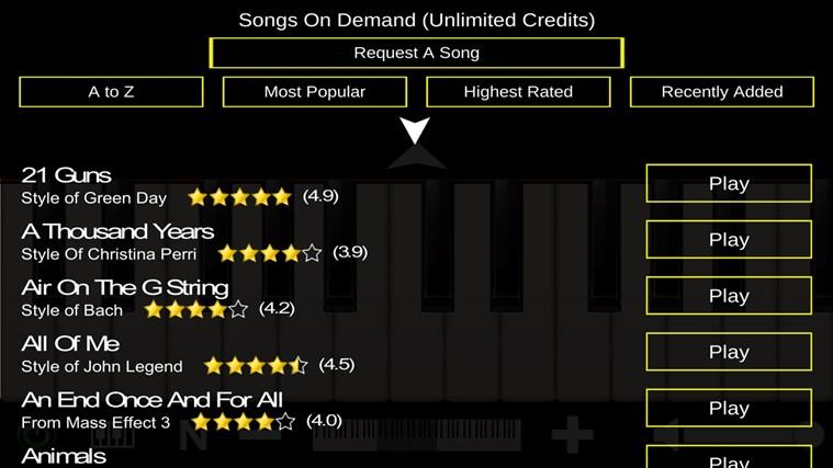 Mini Piano ® petikan skrin 3