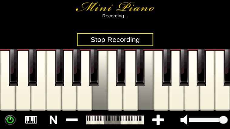Mini Piano ® petikan skrin 5
