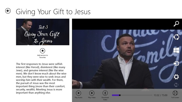 Mars Hill Church screen shot 3