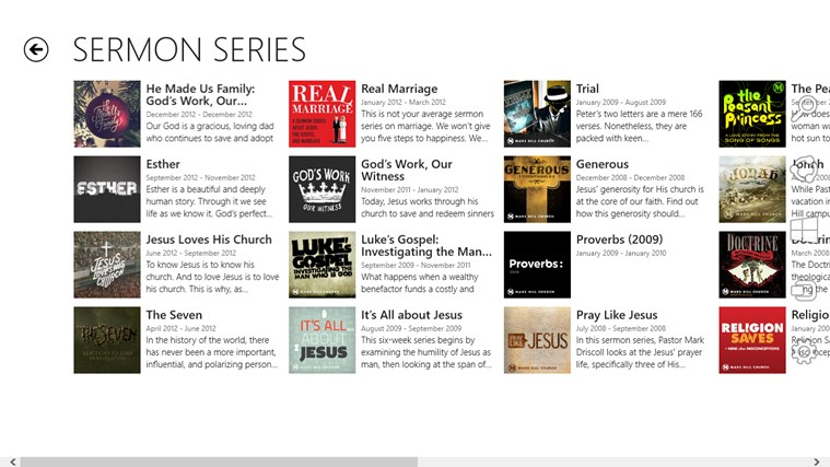 Mars Hill Church screen shot 7