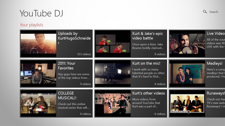 YouTube DJ screen shot 1