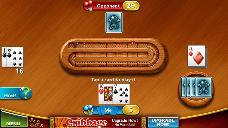 Cribbage Free screen shot 3