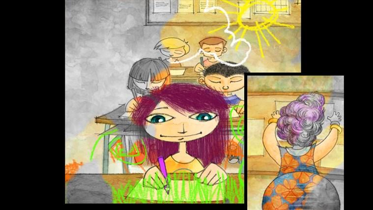 World of Violet: First adventure snímek obrazovky 3