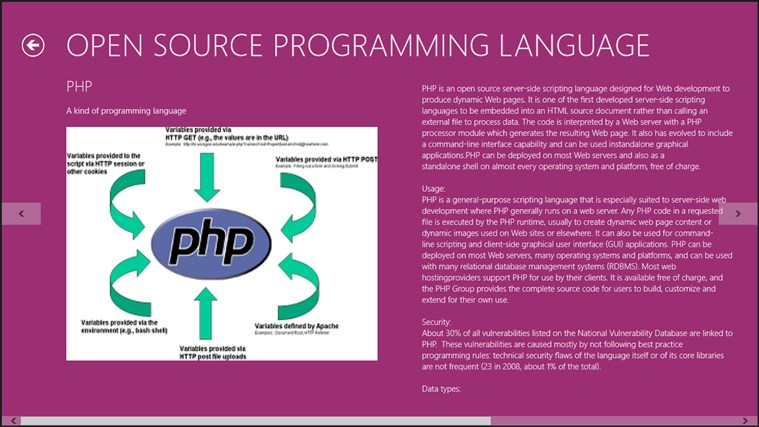Open Source Programming Language. captura de tela 1