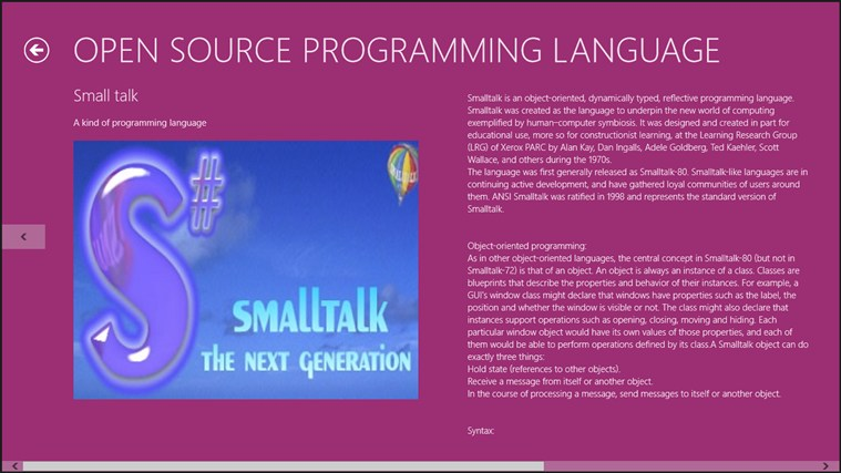 Open Source Programming Language. captura de tela 3