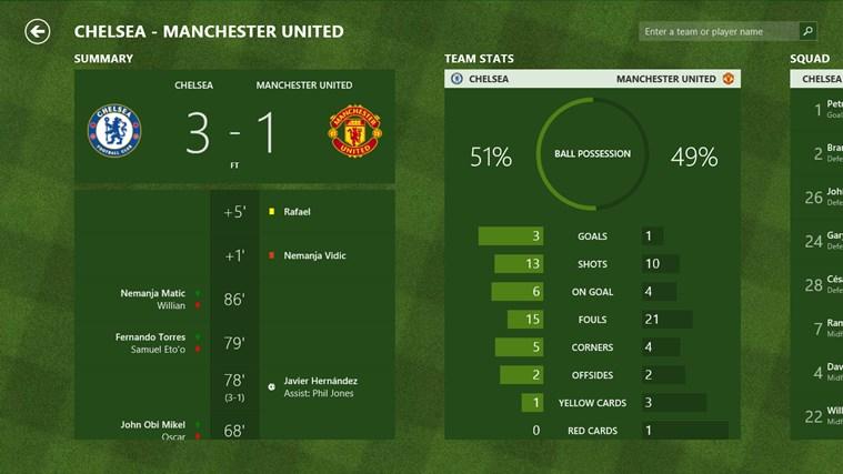 Bing Sport screen shot 3